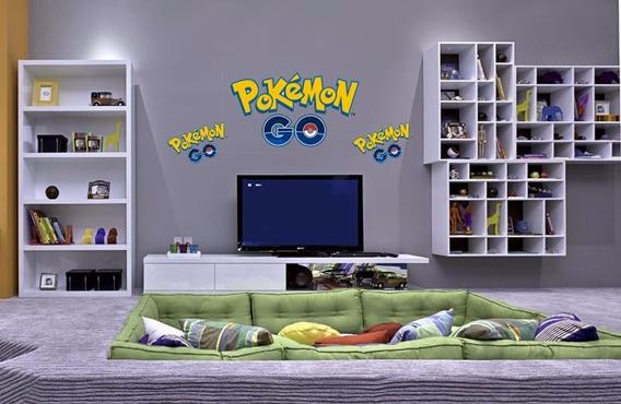 Adesivo Pokemon Go 11 Unid. Pokemon Go