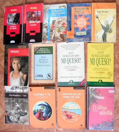 Cuentos Y Novelas Clasicas Y Modernas En Libros Usados