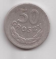 Polonia Moneda De 50 Groszy Año 1949 !!!