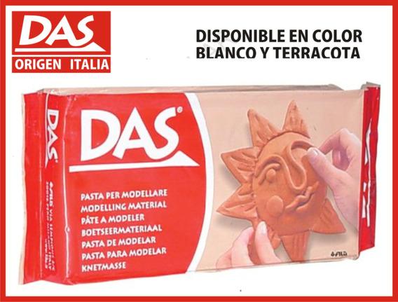 Das Arcilla Ceramica Blanca Y Terracota Pasta Sin Horno