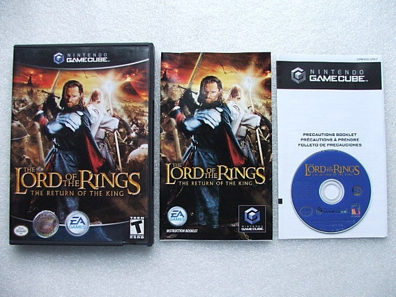The Lord Of The Rings The Return Of The King Game Cube