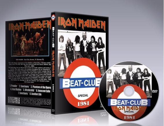 Iron Maiden - Beatclub 1981