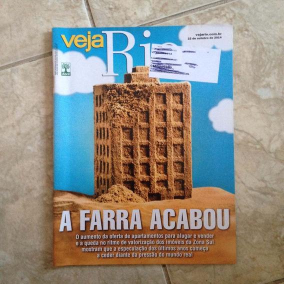 Revista Veja Rio 22/10/2014 Farra Dos Aluguéis Dos Imóveis