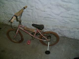 Bici Rodado 16 Color Rosa Usada Buen Estado!!! Oportunidad