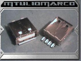 Conector Usb Para Cabos - Componente Eletronico Smd Pic Avr