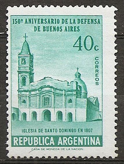Argentina Gj 1082 Año1957 Serie De 1v. Mt 576 Mint