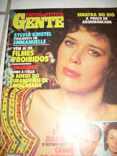 Fatos E Fotos Gente Nº 949 - Sinatra - Flamengo - Bornay