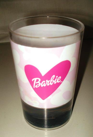 Barbie - Vaso Con Agua Doble Capa