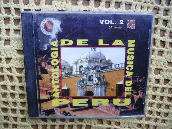 Antologia De La Musica Del Peru Vol. 2 - Cd Original
