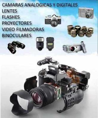 Camaras Analogicas,digitales,flash De Estudio Service