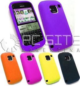 34d7c5df50a Funda / Protector De Silicona Para Celular Nokia E5 - $ 98,00 en ...