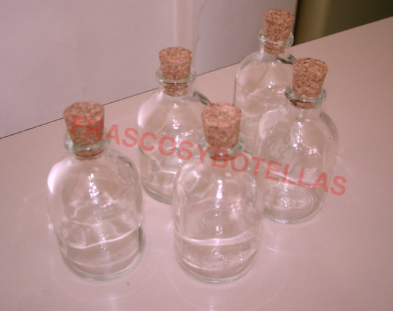 Frascos-botellas Difusor 50 Cc Corcho X 50 +300 Varillas