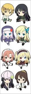 Plancha De Stickers De Anime De Boku Wa Tomodachi Ga Sukunai