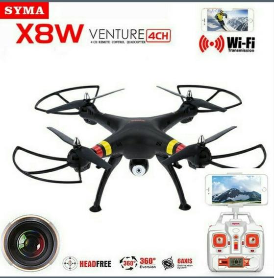 Drone Quadrecopter X8w Com Gps Wifi