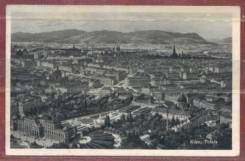 Austria - Tarjeta Postal Circulada Viena A Bs As De 1950