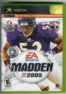 Juego Madden Nfl 2005 Para Xbox