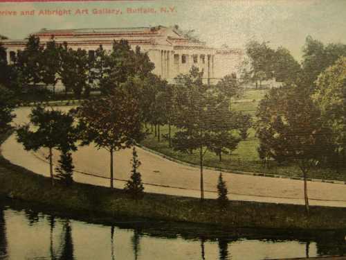 Postal Antiquer Aldright Gallery Buffalo N.y