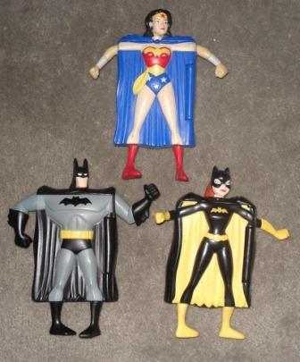 Superheroes Batman Gatubella Mujermaravilla Mc Donalds X3