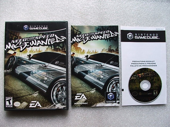 Need For Speed Most Wanted Game Cube Original Americano