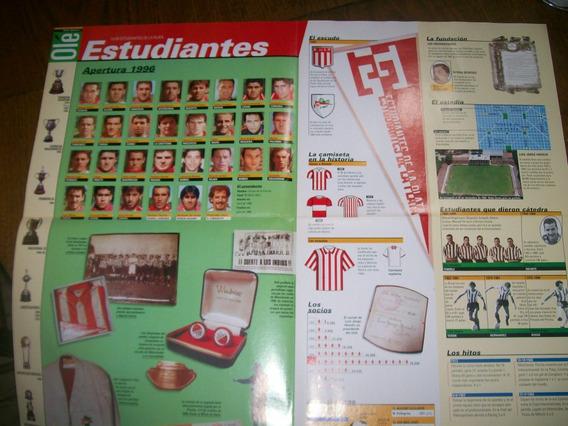 Poster Estudiantes Lp- Atlas Del Futbol Argentino (014) Ole
