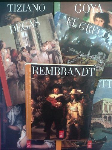 Los Grandes Genios Del Arte Degas Goya Rembrandt Murillo