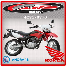 Honda Xr 150l Nueva 2017 0 Km Roja Negra Blanca Moto Sur