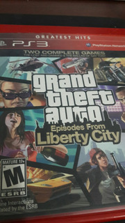 Ps3 Grand Theft Auto Episodes From Liberty City.