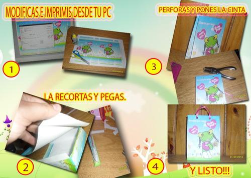 Mega Kit Imprimible De Bolsas 2014 Bolsitas 40 Modelos Difer
