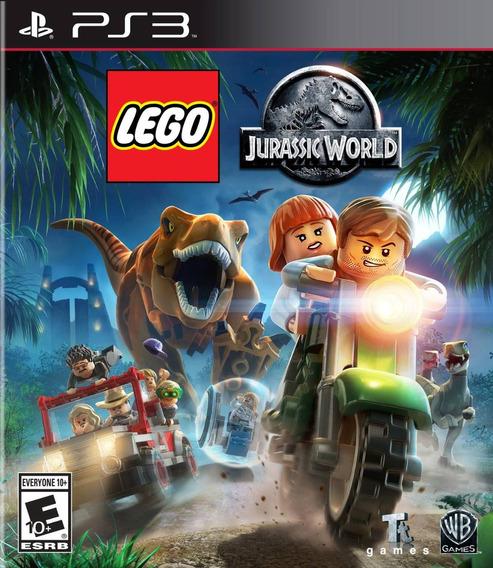 Lego Jurassic World (português) - Ps3 - M. Física + F Grátis