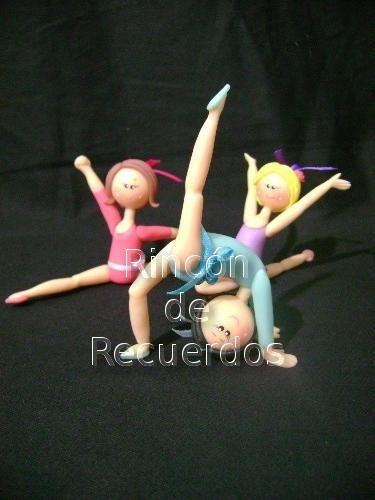 Adorno Torta Danza Bailarina Nena Porcelana Fria