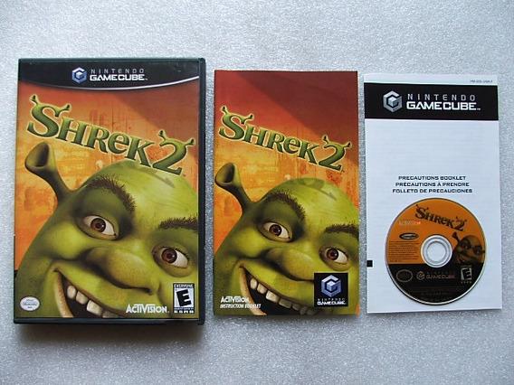 Game Cube: Shrek 2 Americano Completo!! Diversão Nota 10!!