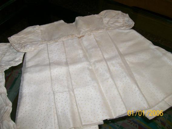 Vestido De Bautismo Plumeti - Año 57