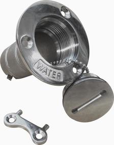 Bocal De Abastecimento De Agua Agulheiro P/ Barco Aço Inox