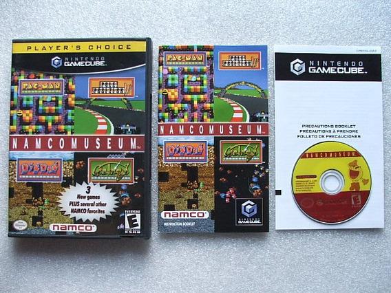 Game Cube: Namco Museum Americano Completo! Muitos Clássicos