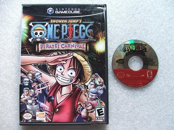 Game Cube: One Piece Pirates Carnival Americano Completo!!
