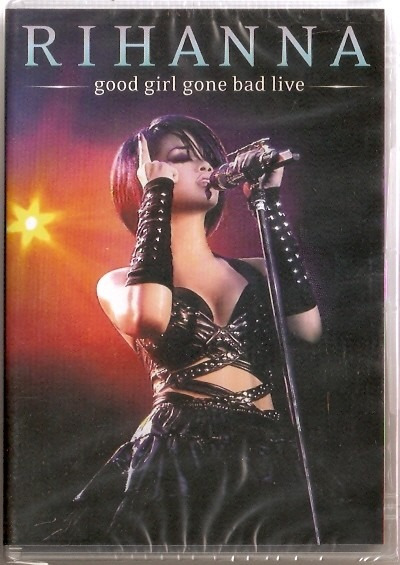 Dvd Rihanna - Good Girl Gone Bad Live - Novo***