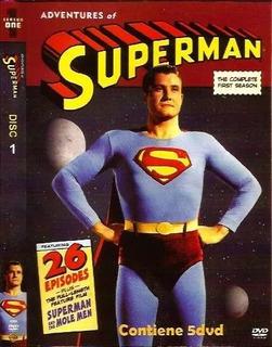 Colección De Aventuras De Superman Detv En 10 Dvds
