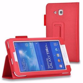 Capa Samsung Galaxy Tab 3 Lite 7 T110 / T111 T116 Vermelha
