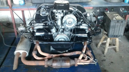 Motor Volkswagen 1600 Injetado Com Fueltech
