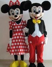 Alquiler Disfraz Mickey Mousse , Minnie Many A La Obra