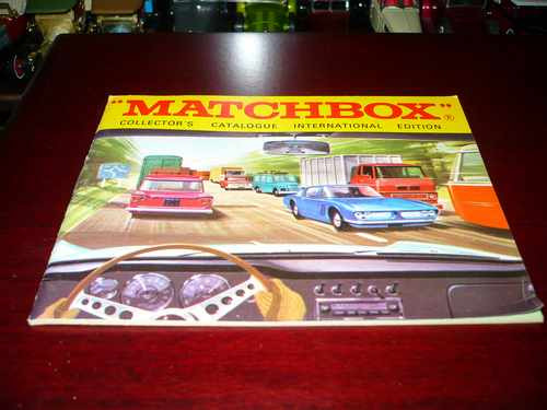 Matchbox Collector`s Catalogue 1969 Int A Lesney Product