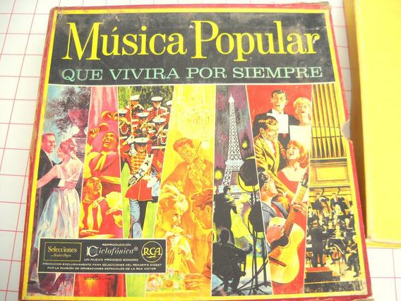 Colección De Discos De Vinilo De Música