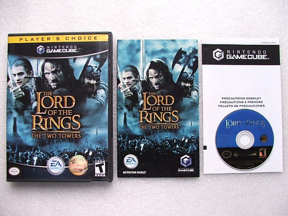 The Lord Of The Rings The Two Towers Game Cube Original