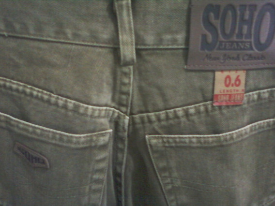 Soho Jeans Size 6-cintura Alrededor Mide 87cm.,finisimo-#1