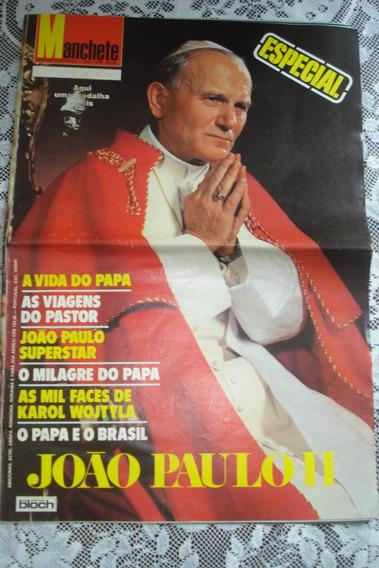 Revista Manchete Especial Papa João Paulo Il 1980