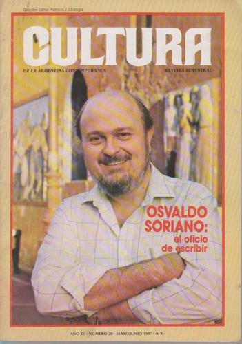 Revista Cultura De La Argentina Contemporanea. Num 20