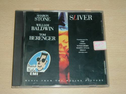 Ub40 Enigma Sharon Stone Sliver Soundtrack Cd Americano