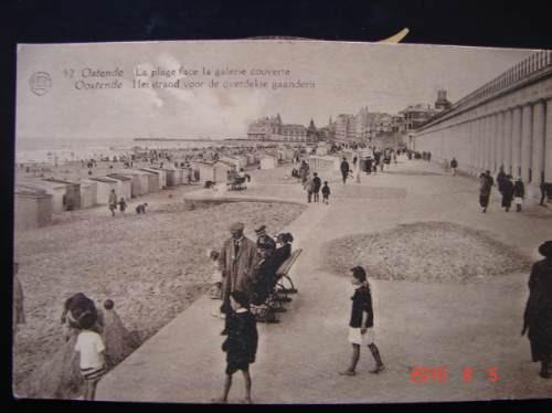 Ostende En Europa. Muy Antigua Postal.
