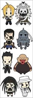 Plancha De Stickers De Anime De Full Metal Alchemist Envidia