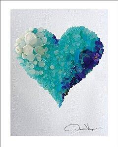 Amor - Blues Raras Y Corazón Mar Aguamarina El Aviso De Cris